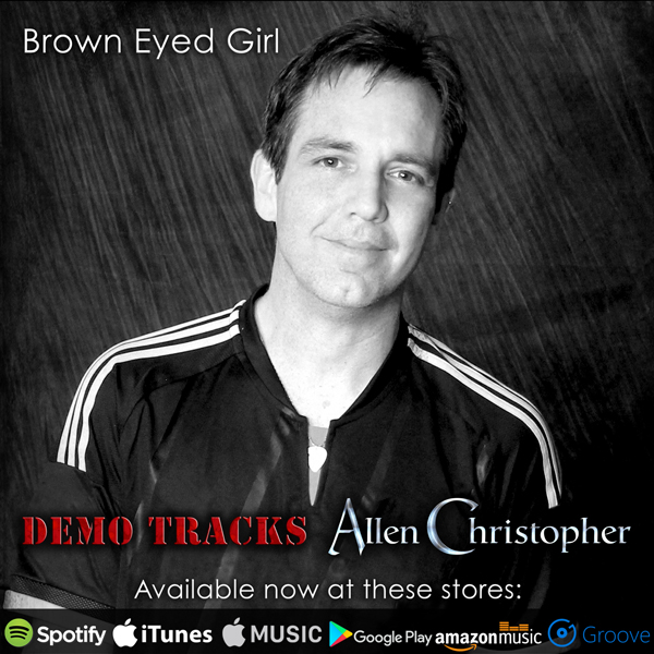 Allen Christopher: Brown Eyed Girl available now!