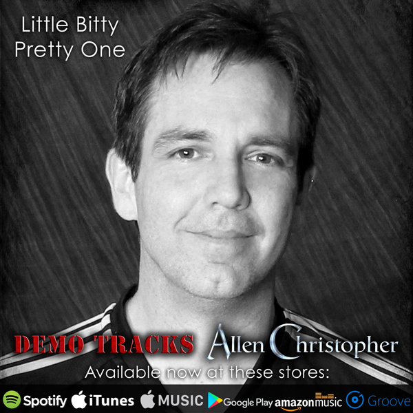Allen Christopher: Little Bitty Pretty One available now!
